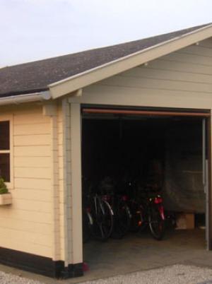 Garage dubbel kantelpoort